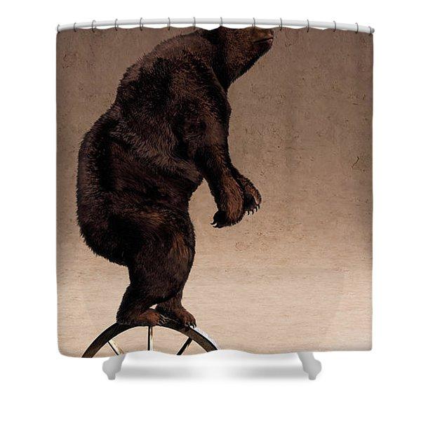 Equilibrium IV Shower Curtain by Cynthia Decker