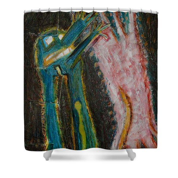 Eve Shower Curtain by Nancy Mauerman