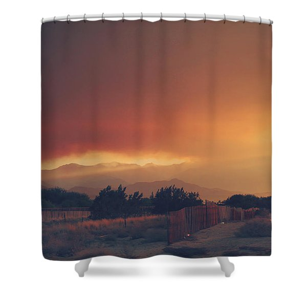 Even Now Shower Curtain by Laurie Search