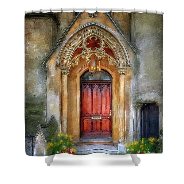 Evensong Shower Curtain by Lois Bryan