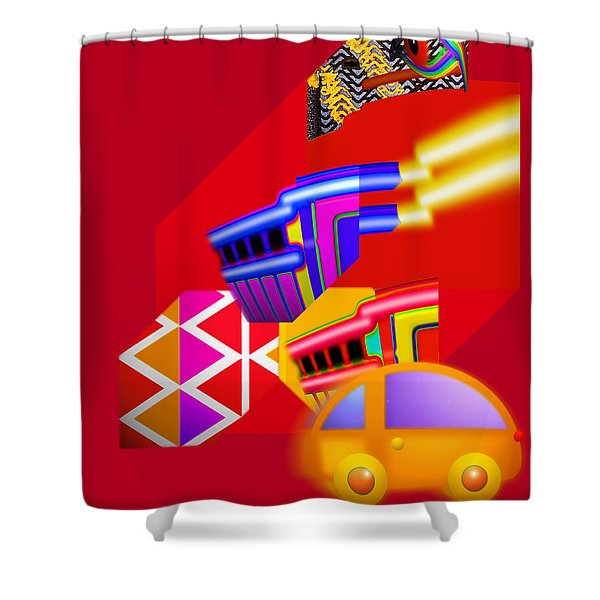 Every Thing You Do Shower Curtain by Charles Stuart