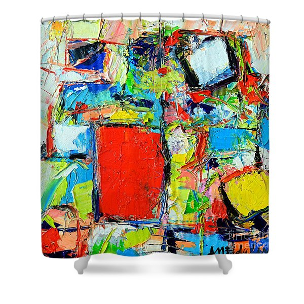 EXCESS INSTINCT Shower Curtain by ANA MARIA EDULESCU