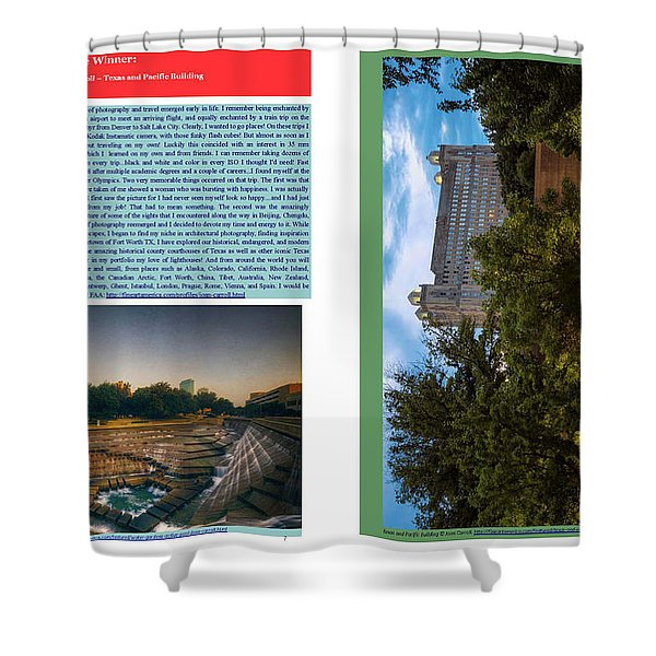 Eye On Photography Shower Curtain by Joan Carroll