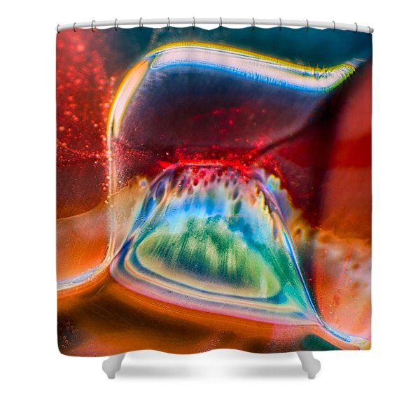 Eyeland Shower Curtain by Omaste Witkowski