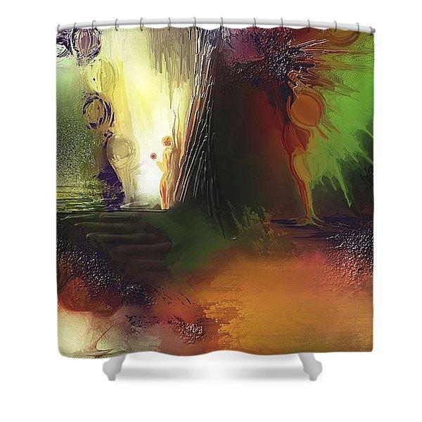 Eygirunne Shower Curtain by Francoise Dugourd-Caput