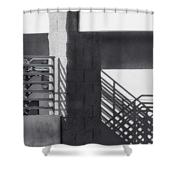 Face To Face Shower Curtain by Caitlyn  Grasso
