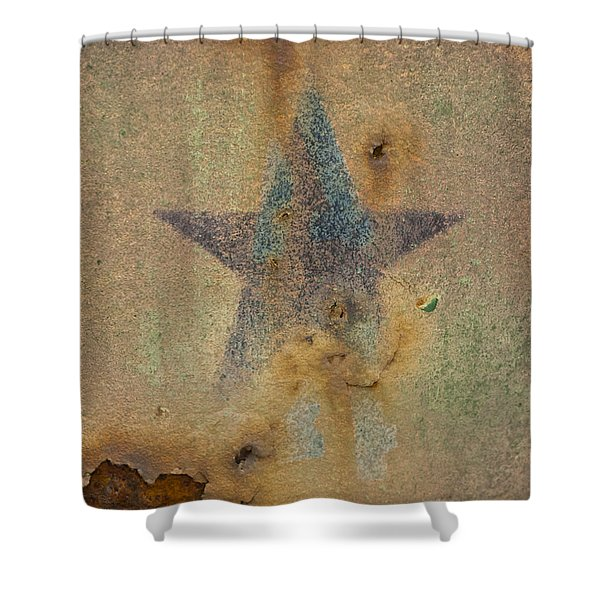Faded Glory Shower Curtain by Christi Kraft