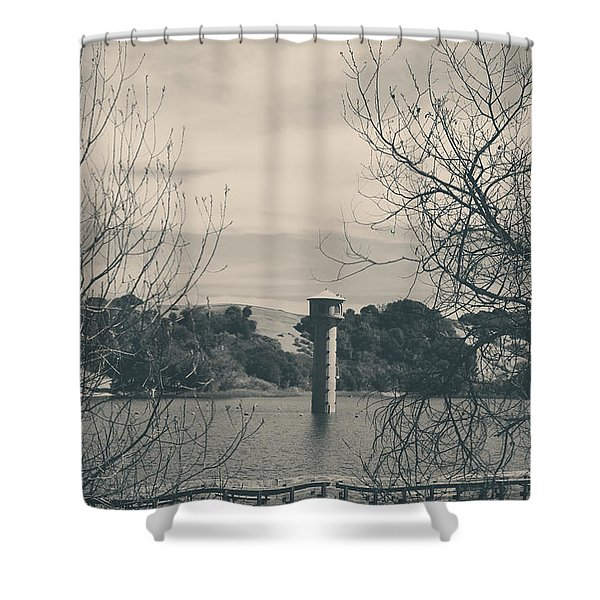 Far From Me Shower Curtain by Laurie Search