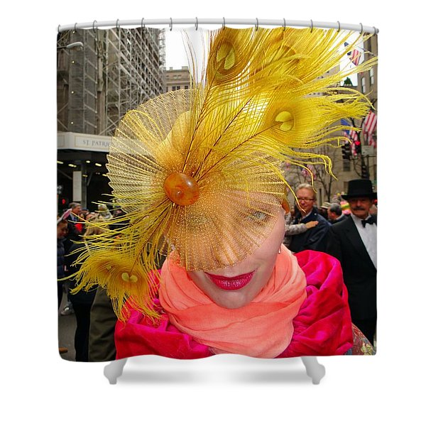 Feathered Finest Shower Curtain by Ed Weidman