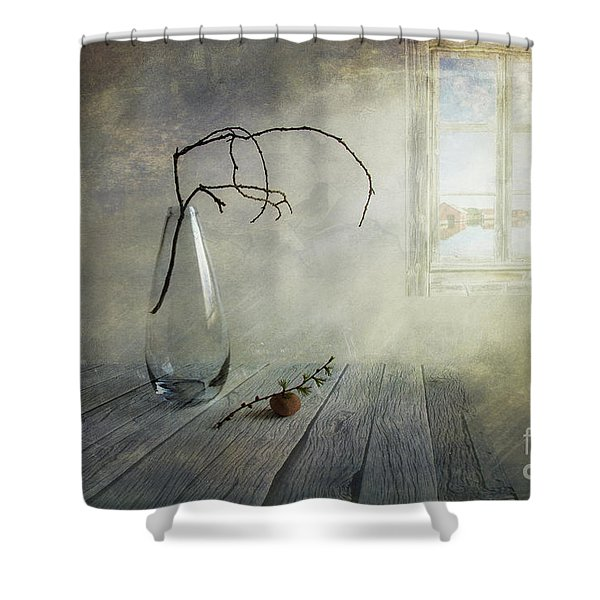Feel a little spring Shower Curtain by Veikko Suikkanen
