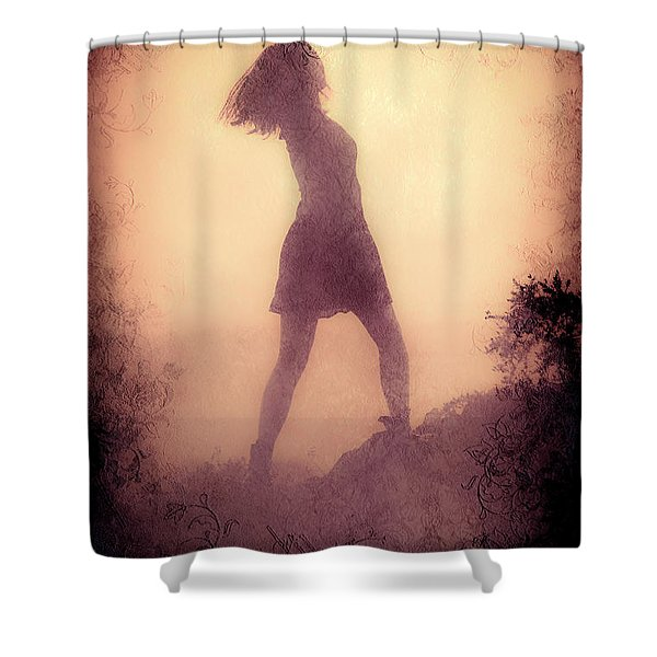 Feminine Freedom Shower Curtain by Loriental Photography