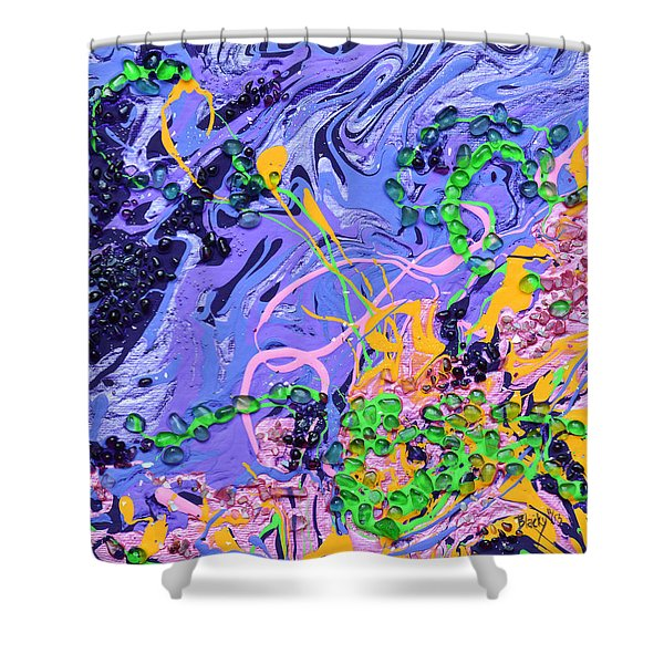 First Love Shower Curtain by Donna Blackhall