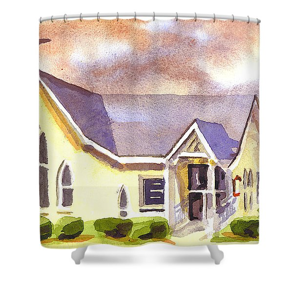 First Presbyterian Church Ironton Missouri Shower Curtain by Kip DeVore