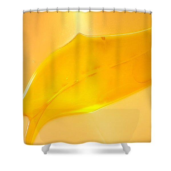 Fishhooks of Light Shower Curtain by Omaste Witkowski