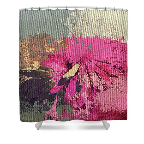 Floral Fiesta - s33bt01 Shower Curtain by Variance Collections