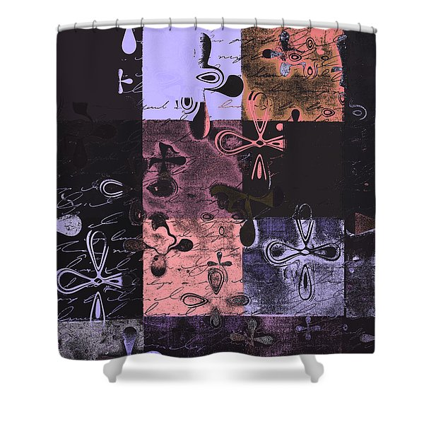 Florus Pokus 02e Shower Curtain by Variance Collections