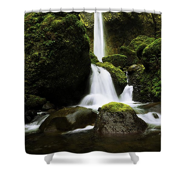 Flow Shower Curtain by Chad Dutson