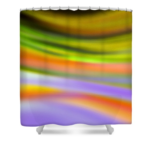 Flowing With Life 20 Shower Curtain by Angelina Vick