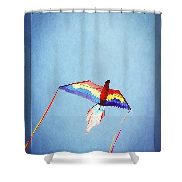 Fly Free Shower Curtain by Jamie Johnson