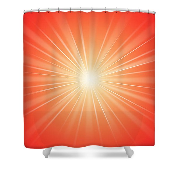 Focus for Meditation 2 Shower Curtain by Philip Ralley