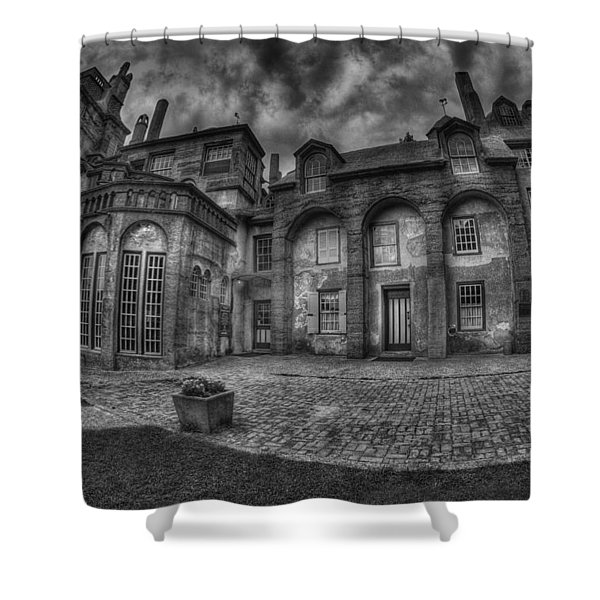 Fonthill Castle  Shower Curtain by Susan Candelario