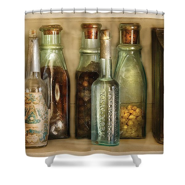 Food - The Ingredients  Shower Curtain by Mike Savad