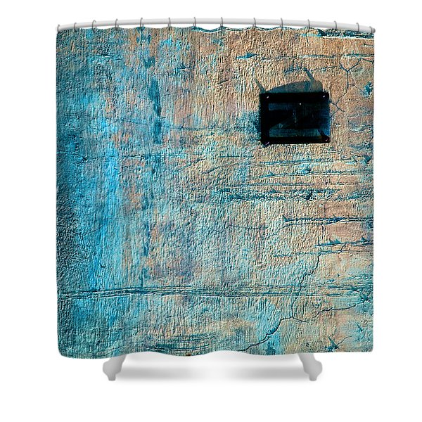 Foundation Eight Shower Curtain by Bob Orsillo