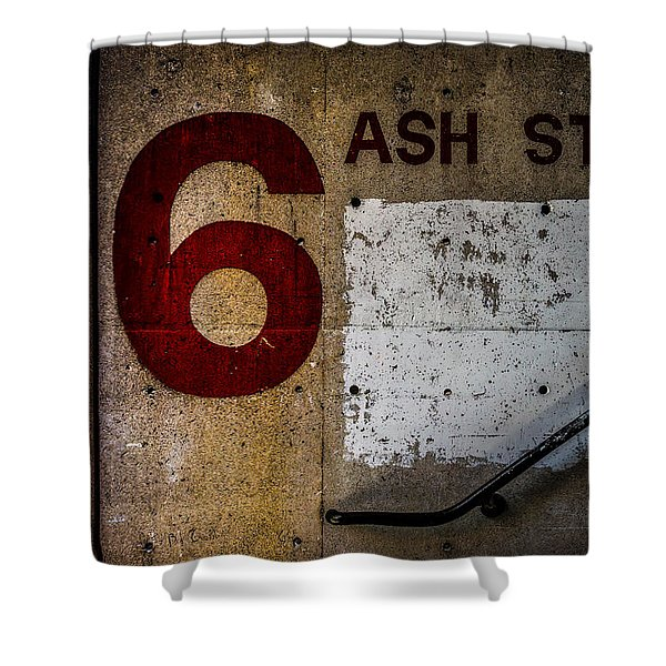 Foundation Number Nineteen Shower Curtain by Bob Orsillo