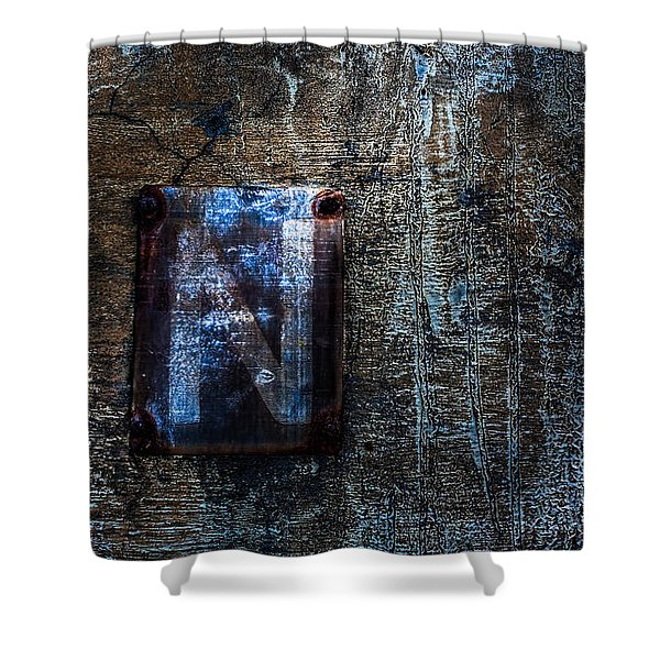 Foundation Number Sixteen North Shower Curtain by Bob Orsillo
