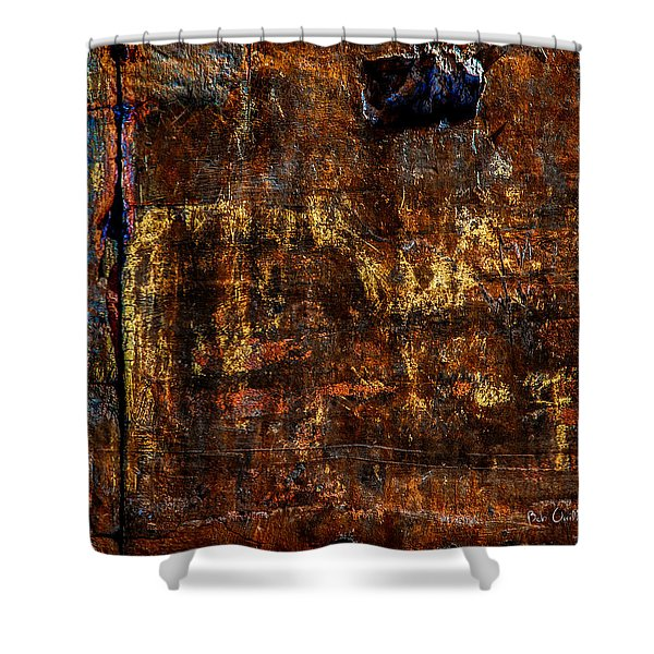 Foundation Six Shower Curtain by Bob Orsillo