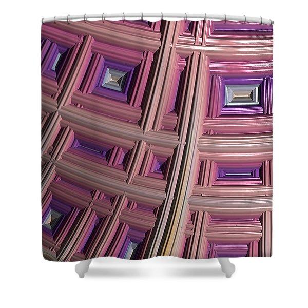 Frames Shower Curtain by Bill Owen