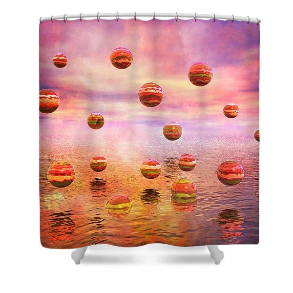 Freedom Shower Curtain by Betsy C  Knapp