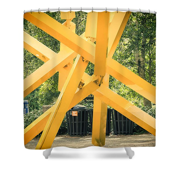 French Fries Shower Curtain by Joan Carroll