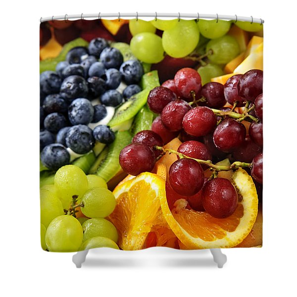 Fresh Fruits Shower Curtain by Elena Elisseeva
