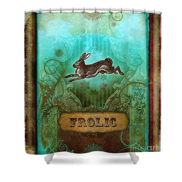 Frolic Shower Curtain by Aimee Stewart