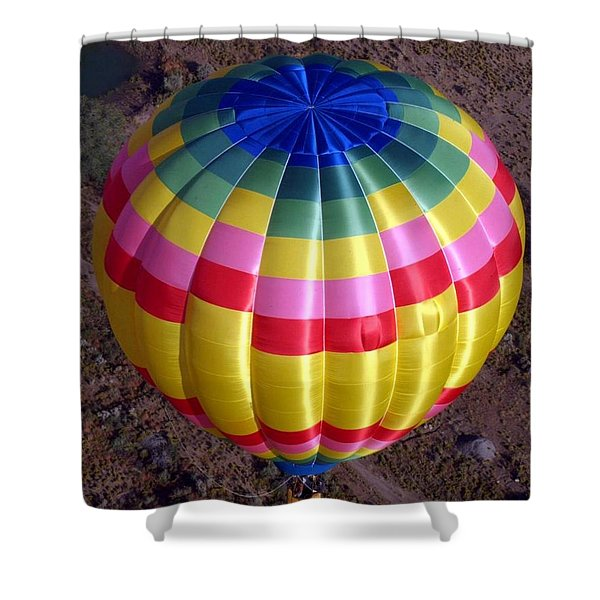 From Above Shower Curtain by Mary Rogers