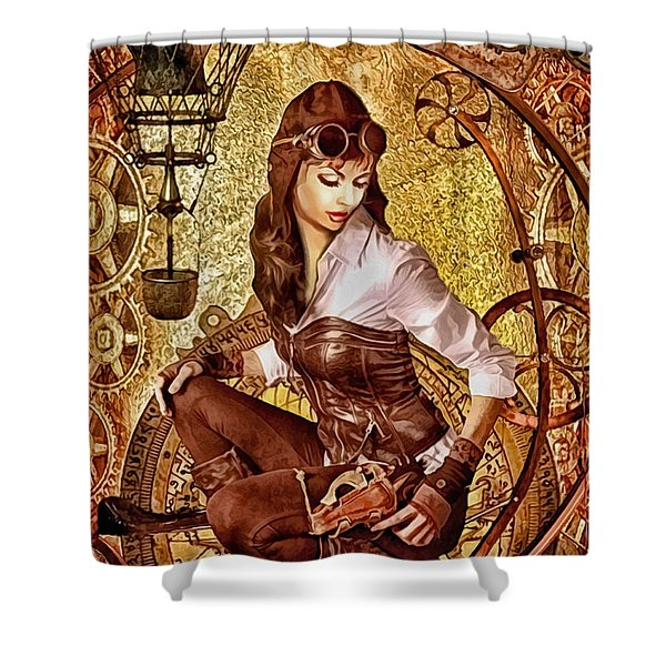 From Above Shower Curtain by Mo T