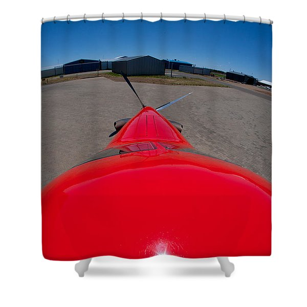 From The Top My Fiend Shower Curtain by Paul Job
