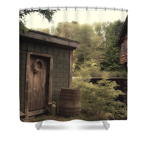 Frye's Measure Mill Shower Curtain by Joann Vitali