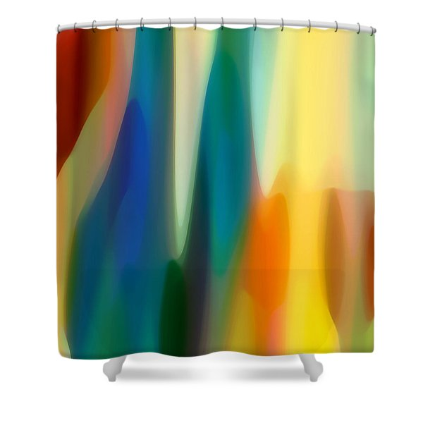Fury 6 Shower Curtain by Amy Vangsgard