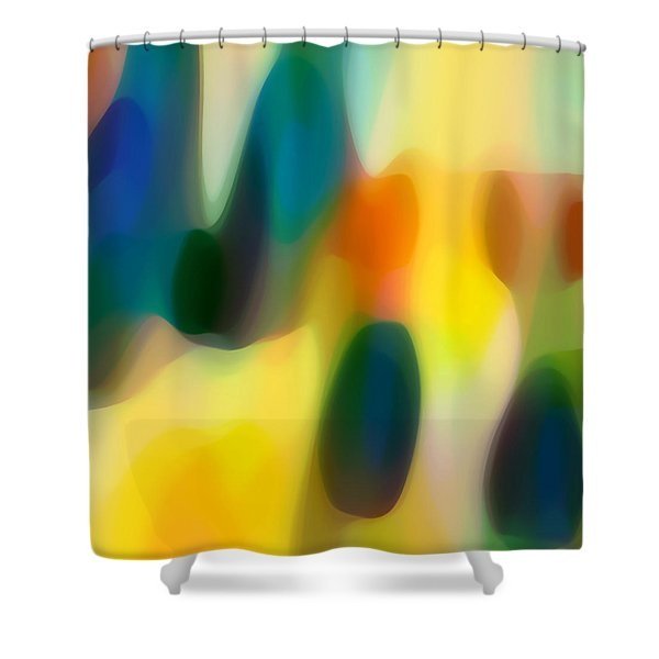 Fury Rain 1 Shower Curtain by Amy Vangsgard