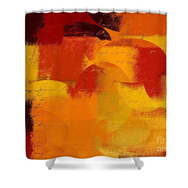 Geomix 05 - 01at01b Shower Curtain by Variance Collections