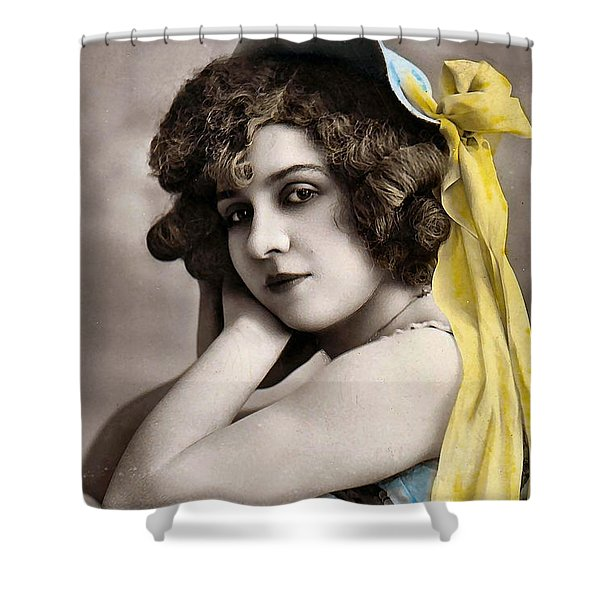 Georgette Delmares Shower Curtain by Studio Photo