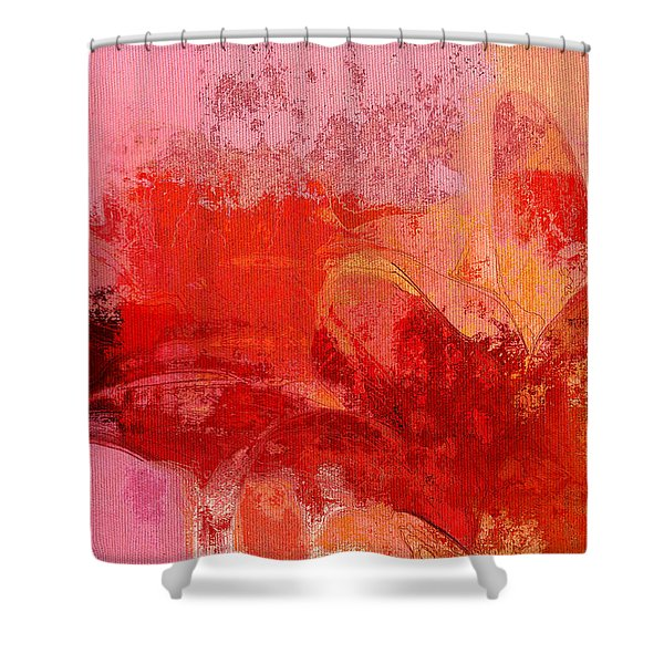 Gerberie - 221at02 Shower Curtain by Variance Collections