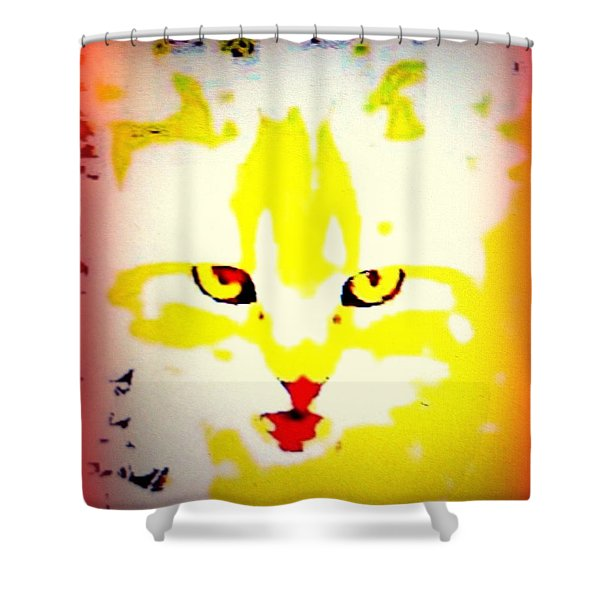 Get Fish Now Shower Curtain by Hilde Widerberg