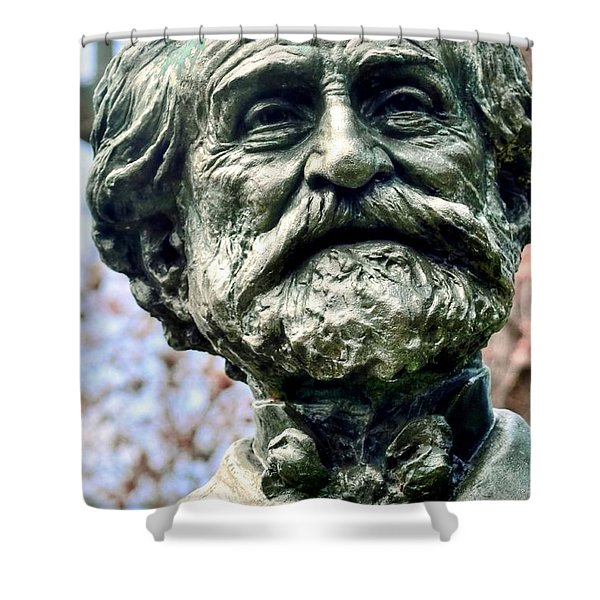 Giuseppe Verdi Shower Curtain by Kathleen Struckle