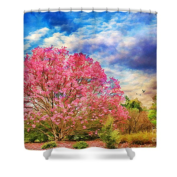 Glorious Spring Shower Curtain by Darren Fisher