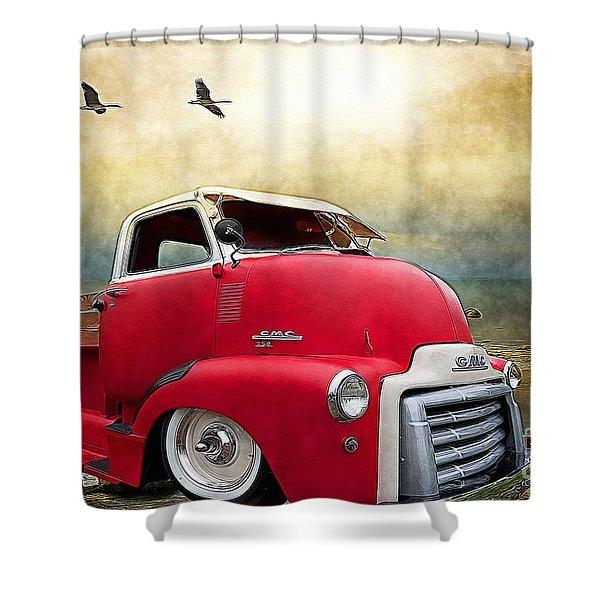 Gmc 350 Shower Curtain by Liane Wright
