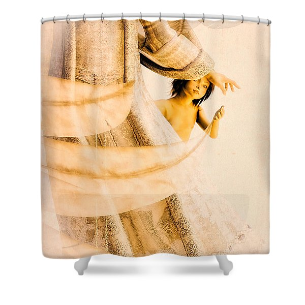 God Bless This Child Shower Curtain by Bob Orsillo