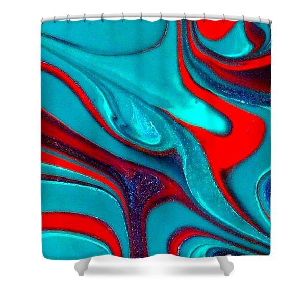 Goddess  Shower Curtain by Holly Anderson